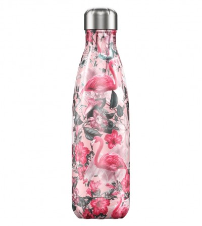 Botella flamingo rosa Chilly´s Bottle